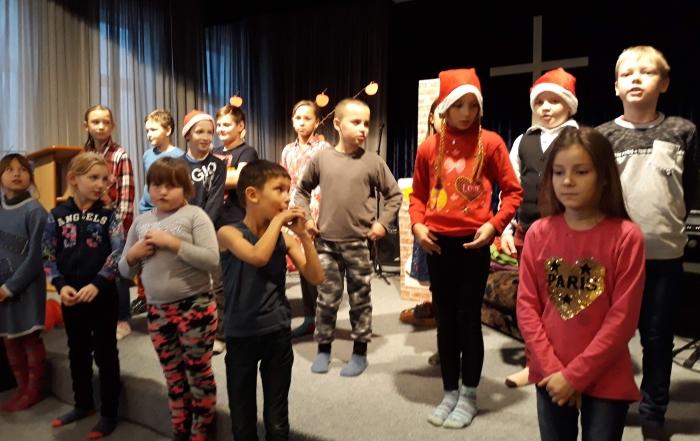 Šv. Kalėdos Vaikų dienos centre