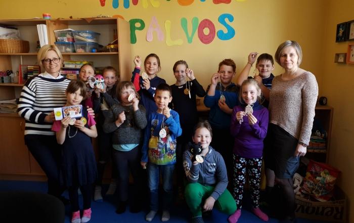Svečiuose viešnios iš Kuršėnų politechnikos mokyklos