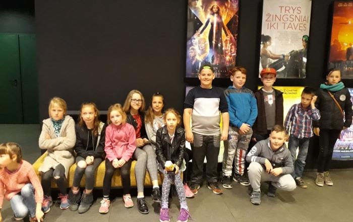 Išvyka į Šiaulių Forum Cinemas